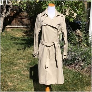 H&M L.O.G.G. Classic Beige Trenchcoat Jacket